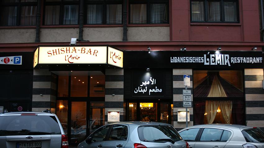 Restaurant L'Emir Von Außen.