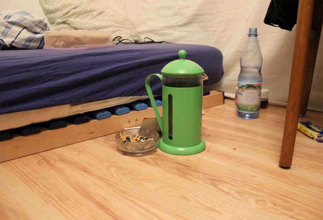 Das Bett einer Hure