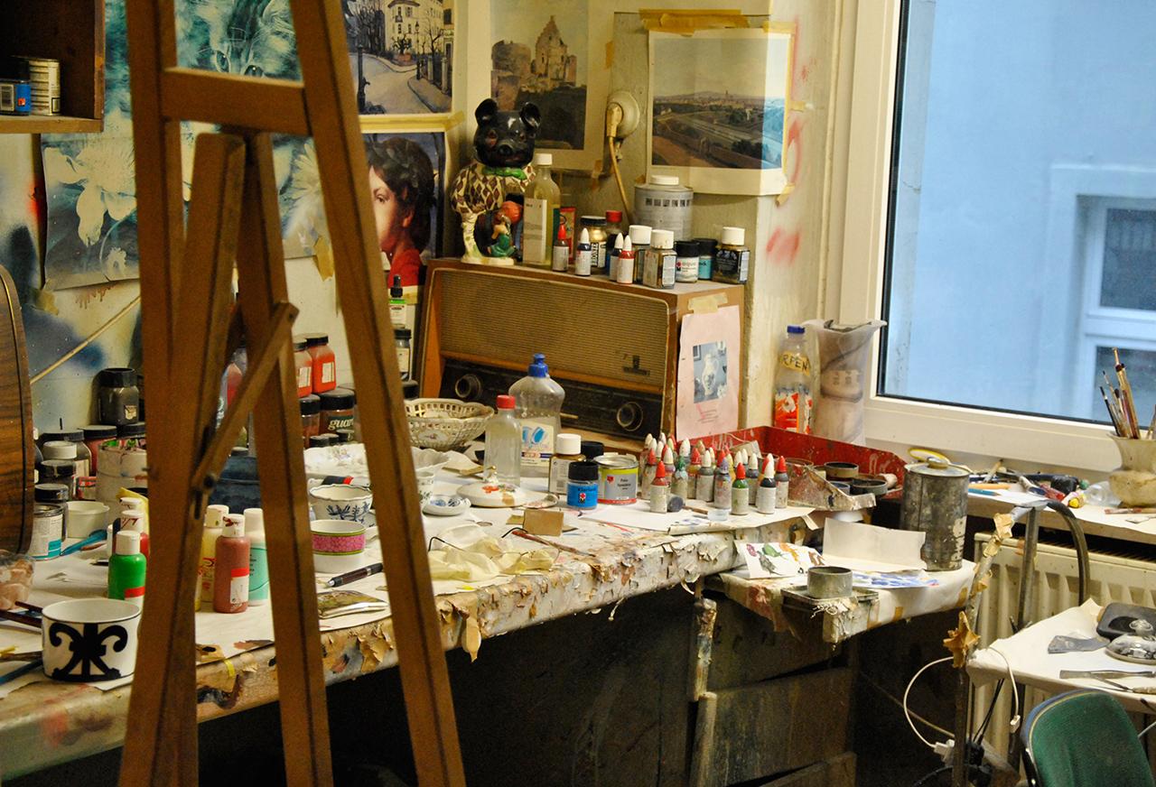 Die Werkstatt von Mohammed El Idrissi
