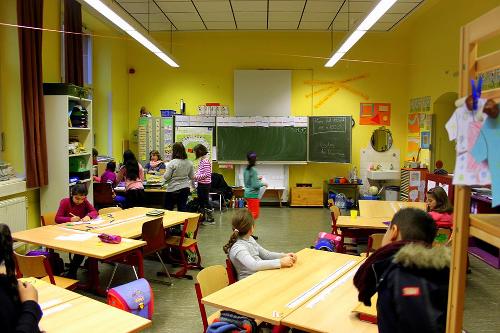 Klassenraum Der 2a