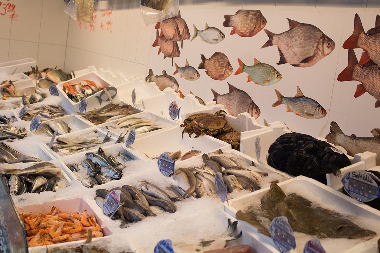 Alim´s Fisch Imbiss Fischtheke Designstudentin RaikaBorsch