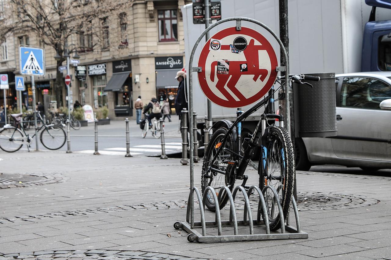 Fahrradständer Rossmann