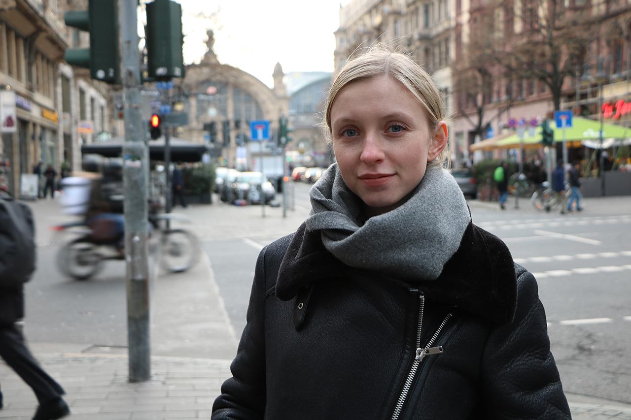 Designstudentin Anna