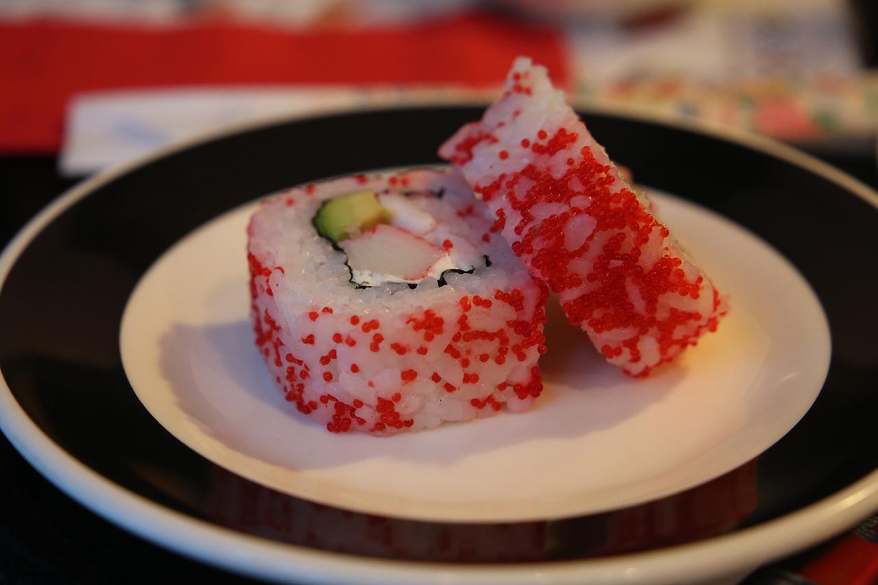 Sushi Auf Dem Teller Von Sema Altuntas