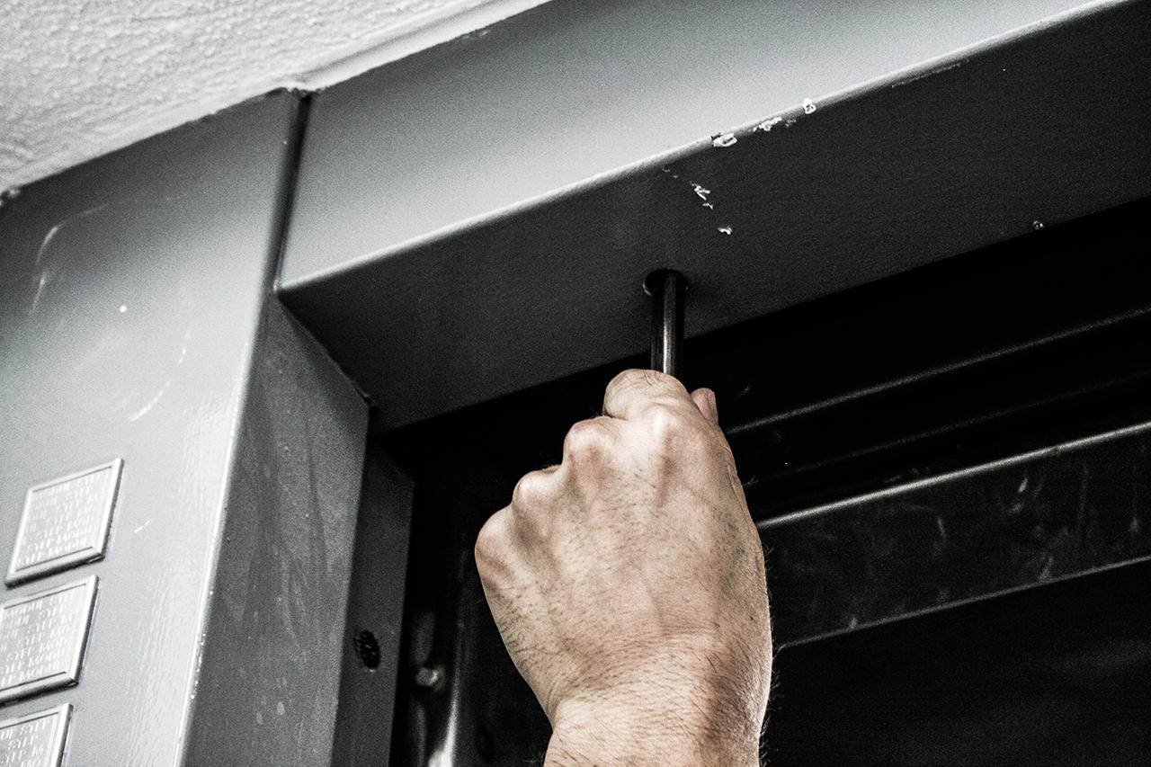 Schlüssel für die Schachttür