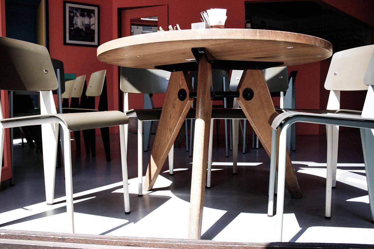 Guéridon Tisch im Maxieisen